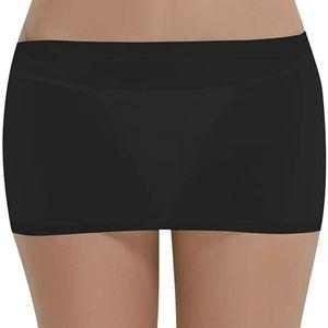 Women's Mesh Sheer Micro Short Mini Skirt One Size